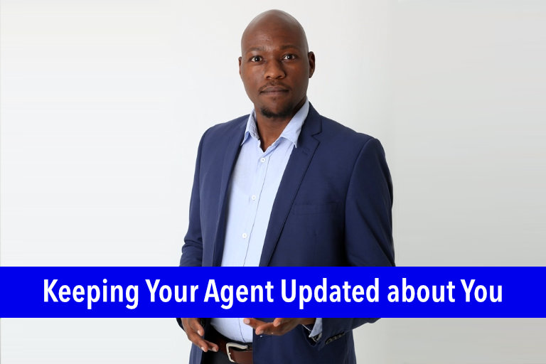 Keeping Your Agent Updated About You